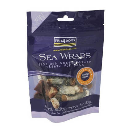 Picture of FISH4DOGS SEA WRAPS TREATS