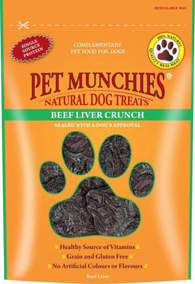 Picture of PET MUNCHIES DOG BEEF LIVER CR