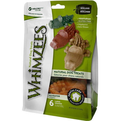 Picture of Whimzees ® Alligator Treat - Large - Pack 30