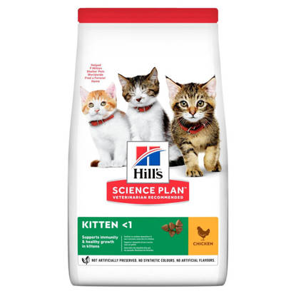 Picture of Hills Science Plan Kitten Dry Cat Food 6 x 300g
