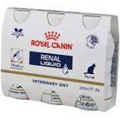 Picture of Royal Canin Cat Renal Liquid Food 3 x 200ml